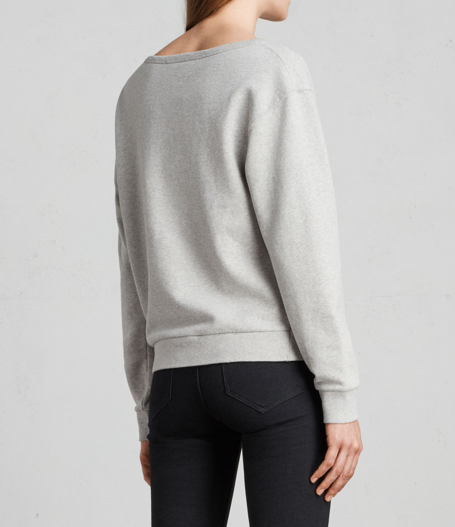 Women's Paloma Sweatshirt (grey_marl) - Image 5