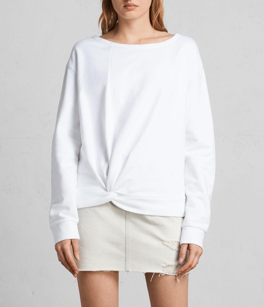 Women's Paloma Sweatshirt (ivory_white) - Image 1