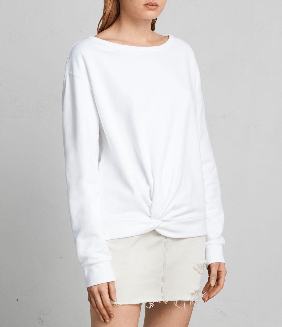 Women's Paloma Sweatshirt (ivory_white) - Image 3