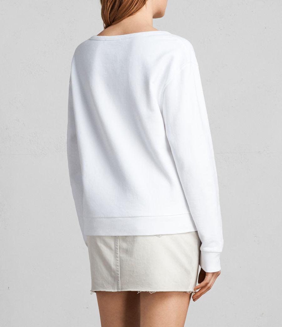 Women's Paloma Sweatshirt (ivory_white) - Image 4