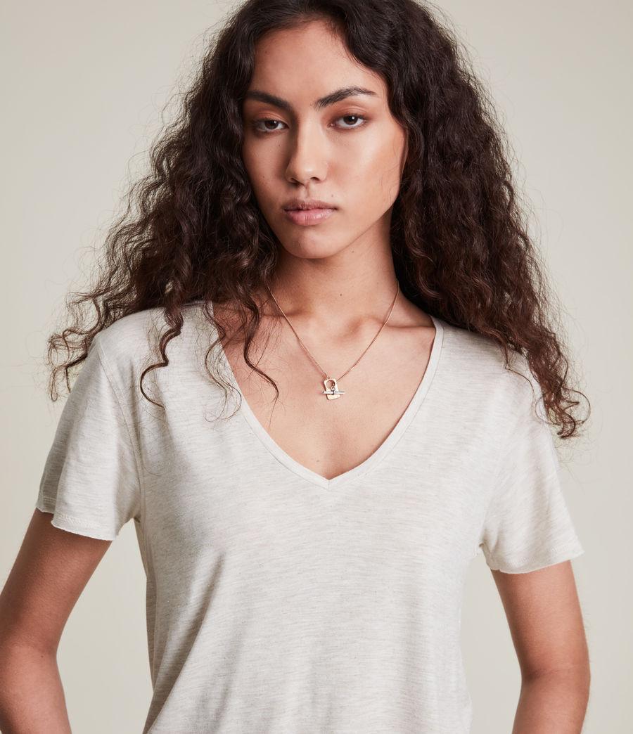 Women's Emelyn Shimmer T-Shirt (stone_marl) - Image 2
