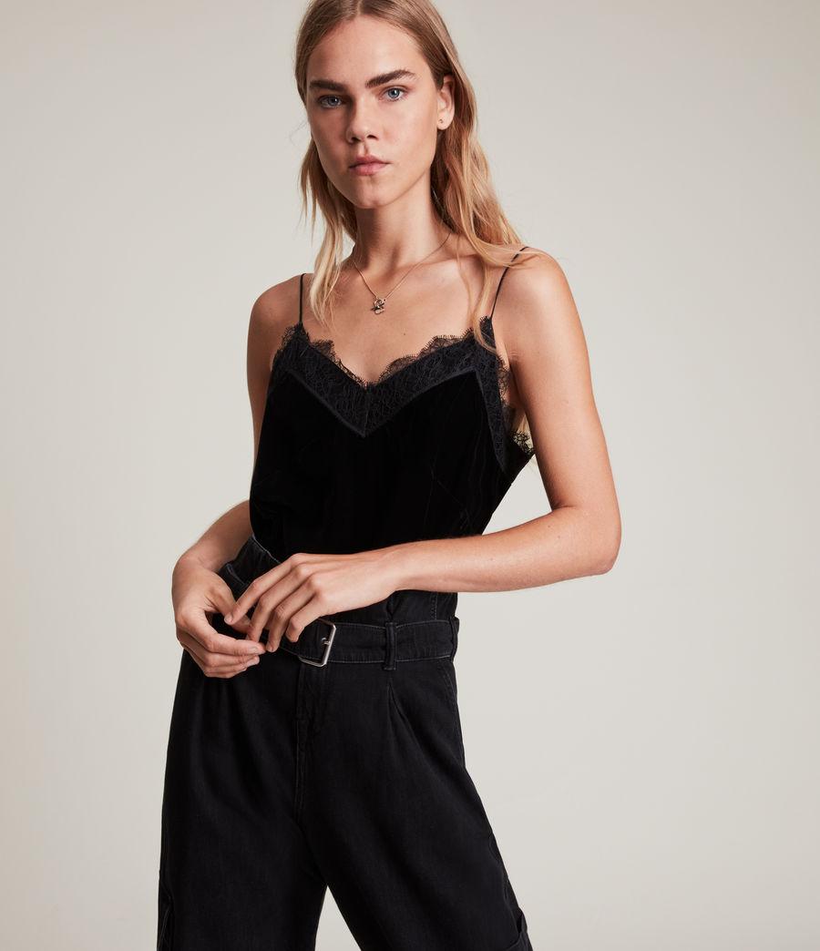Womens Noa Top (black) - Image 1