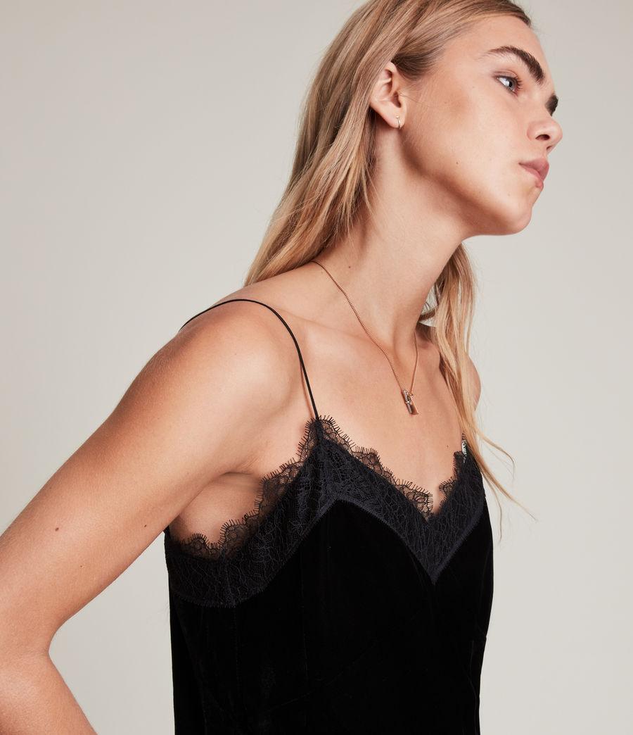 Womens Noa Top (black) - Image 2