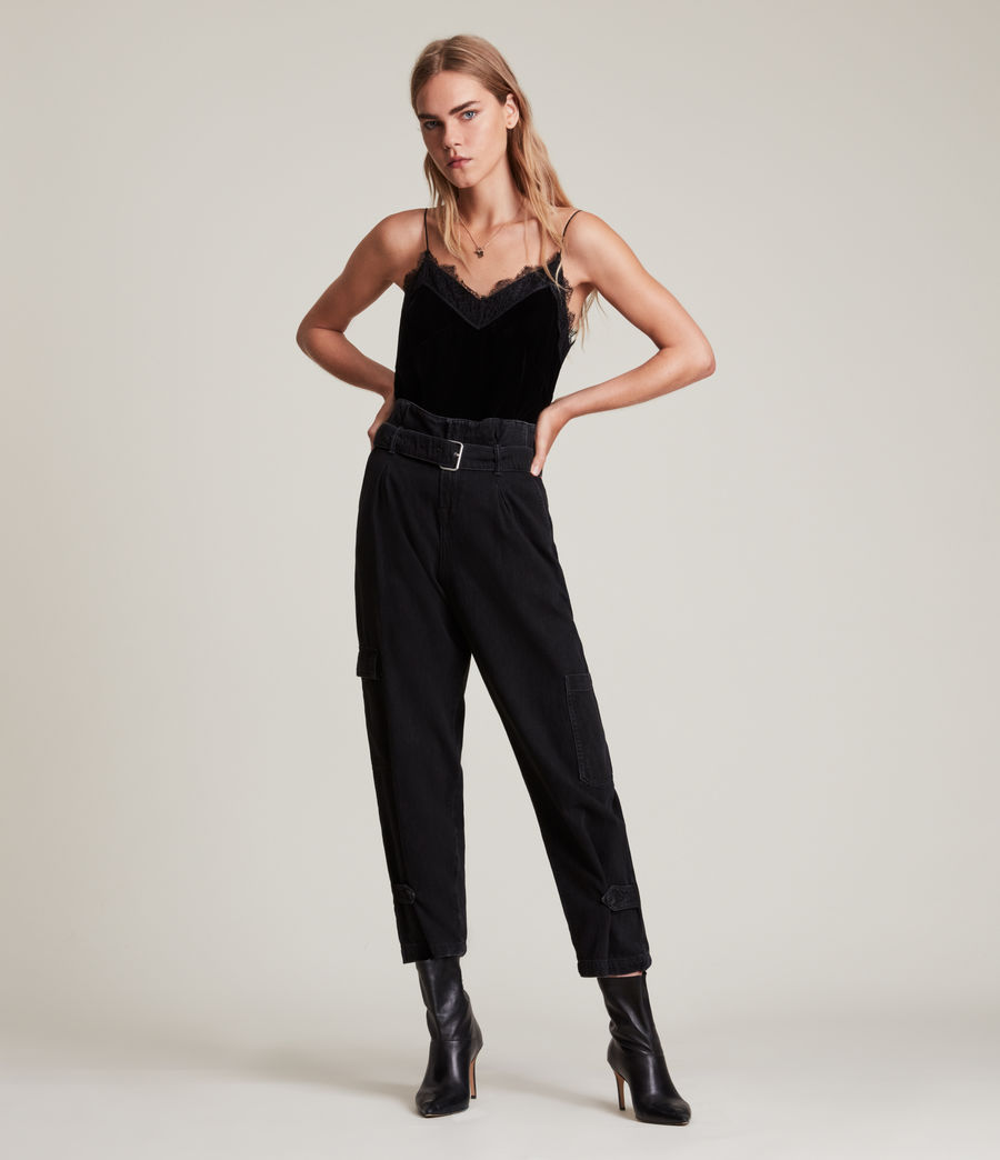 Womens Noa Top (black) - Image 3