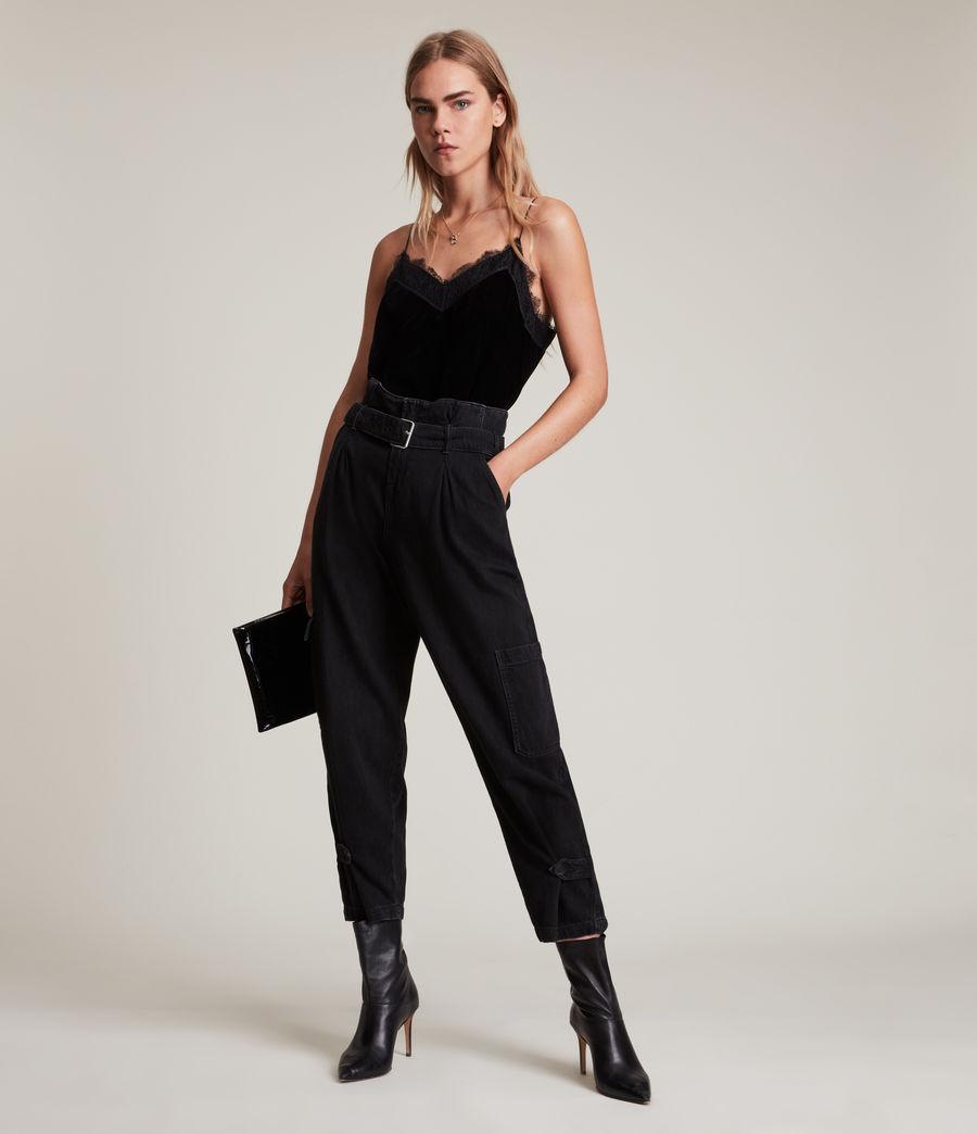 Womens Noa Top (black) - Image 4