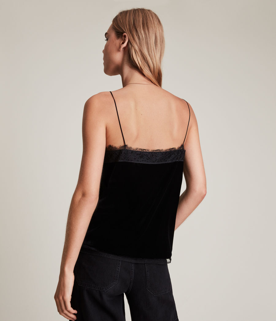 Womens Noa Top (black) - Image 5