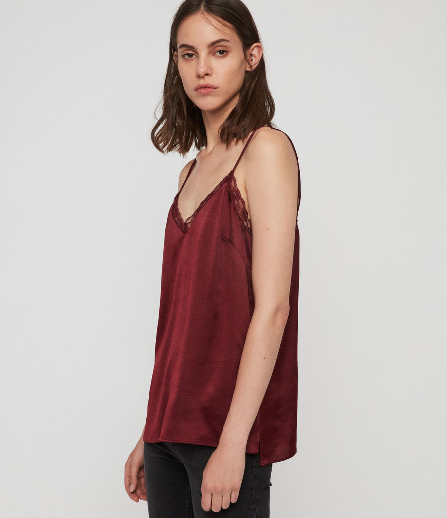 Womens Nia Top (oxblood_red) - Image 3