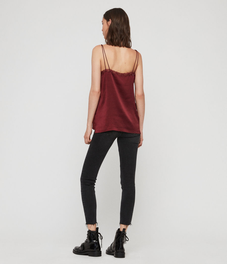 Womens Nia Top (oxblood_red) - Image 4