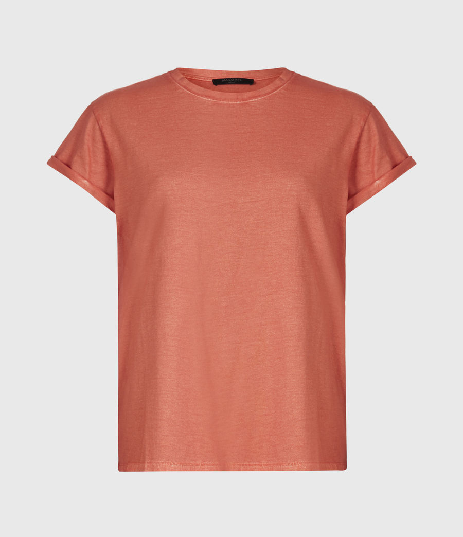 Women's Anna T-Shirt (bright_orange) - Image 2