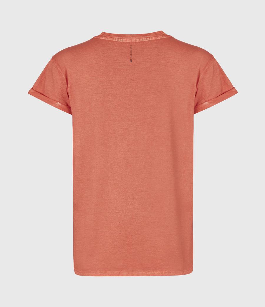Women's Anna T-Shirt (bright_orange) - Image 3