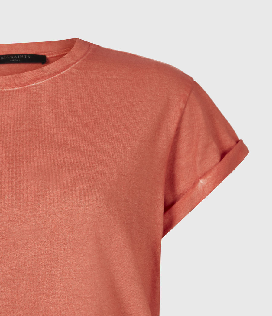 Women's Anna T-Shirt (bright_orange) - Image 5