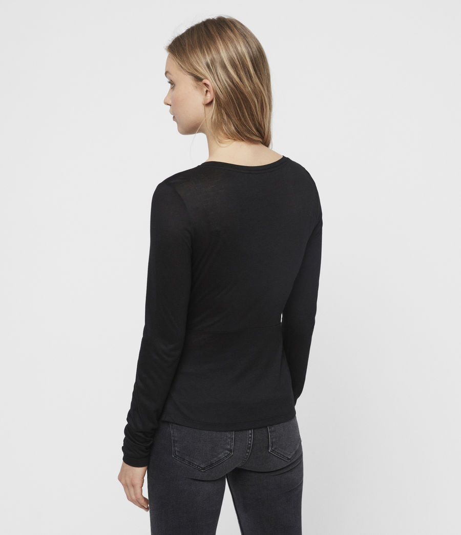 Womens Limera T-Shirt (black) - Image 4