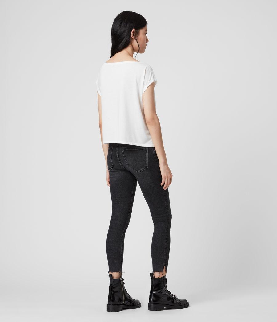 Women's Hatti Short Sleeve T-Shirt (chalk_white) - Image 5