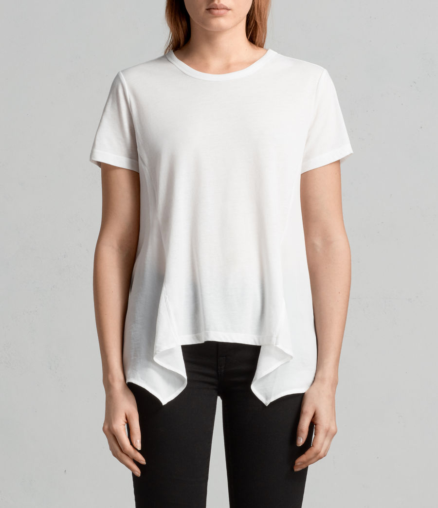 Damen Nadia T-Shirt (chalk_white) - Image 1