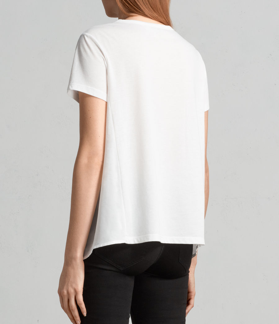 Damen Nadia T-Shirt (chalk_white) - Image 4