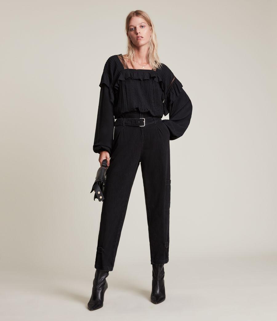 Womens Juliette Top (black) - Image 1