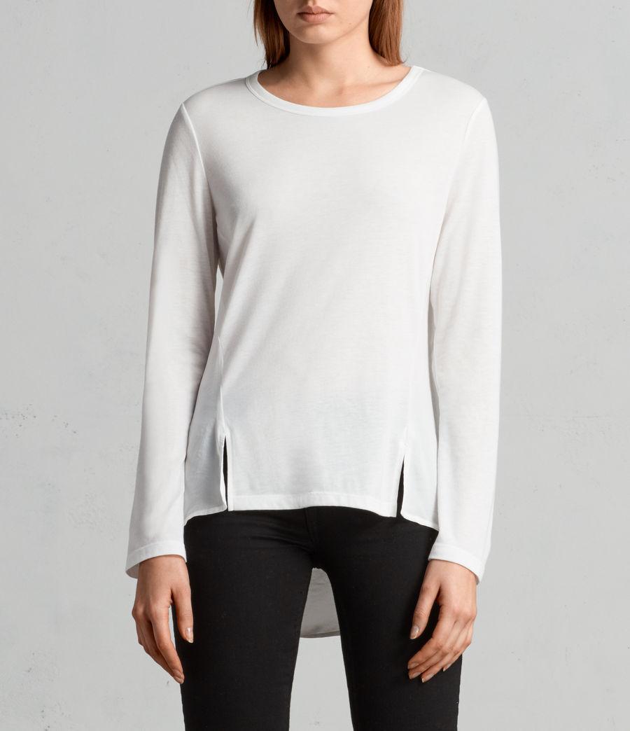 Donne T-shirt Nadia (chalk_white) - Image 2