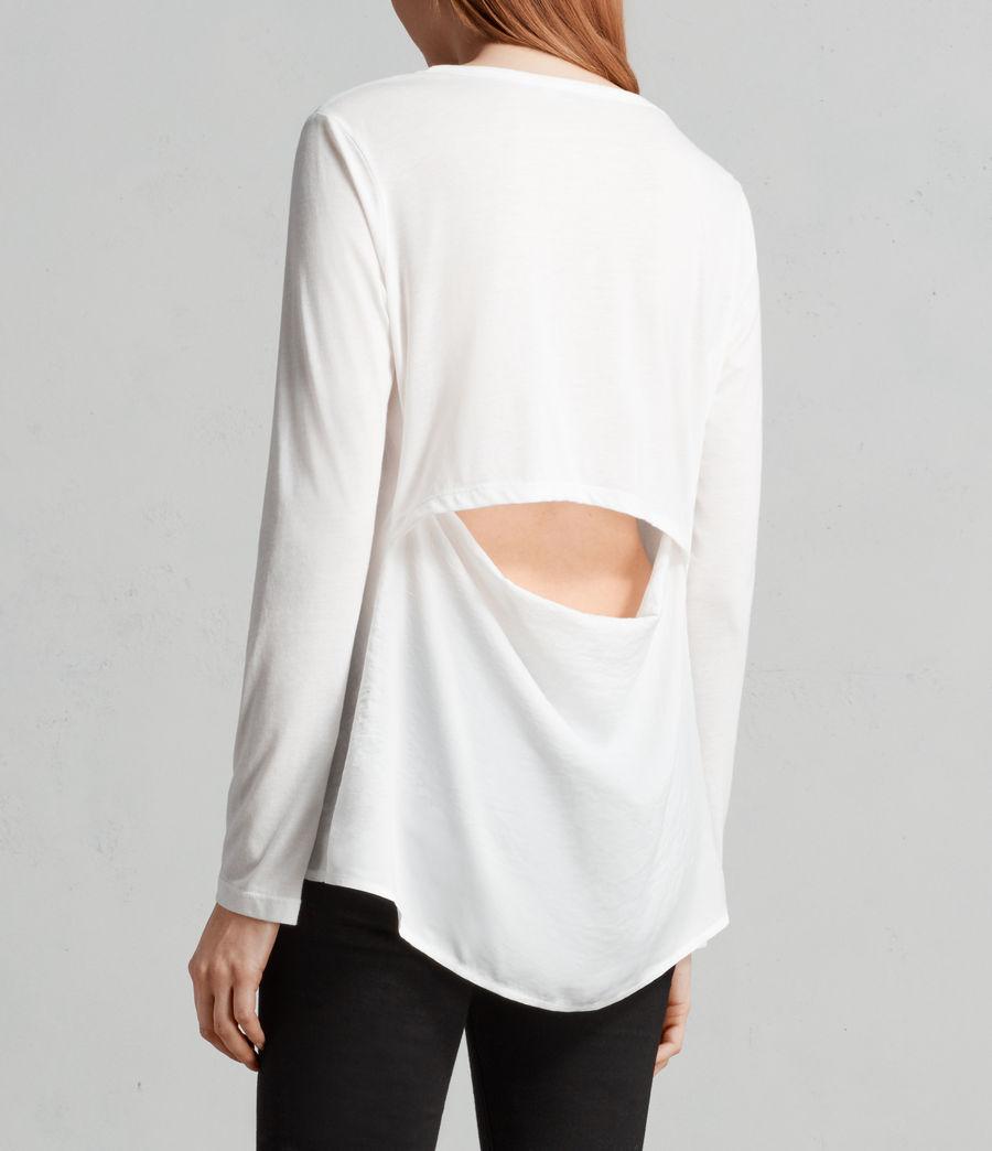 Donne T-shirt Nadia (chalk_white) - Image 3