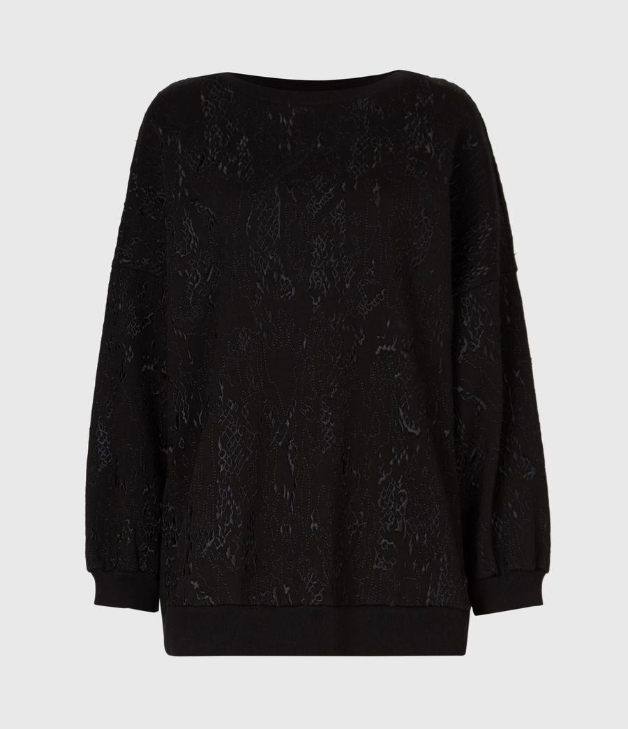 Womens Storn Masala Sweatshirt (black) - Image 2