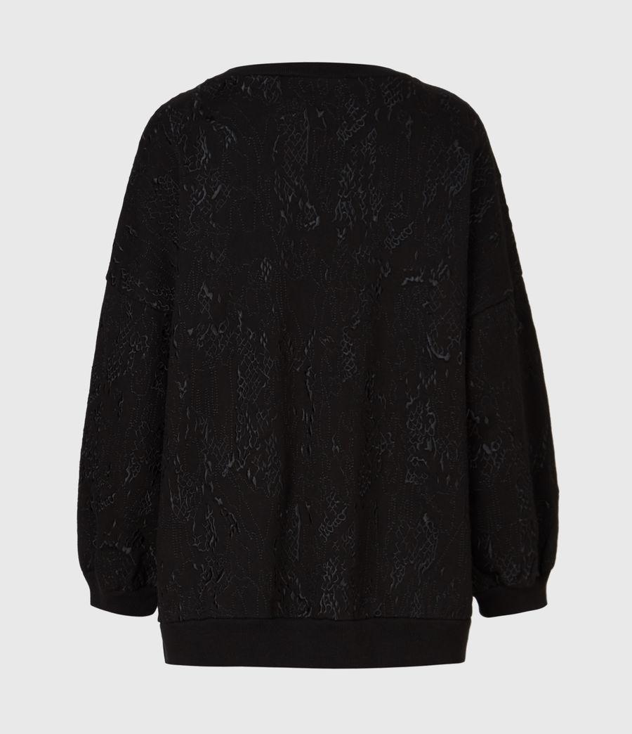 Womens Storn Masala Sweatshirt (black) - Image 3