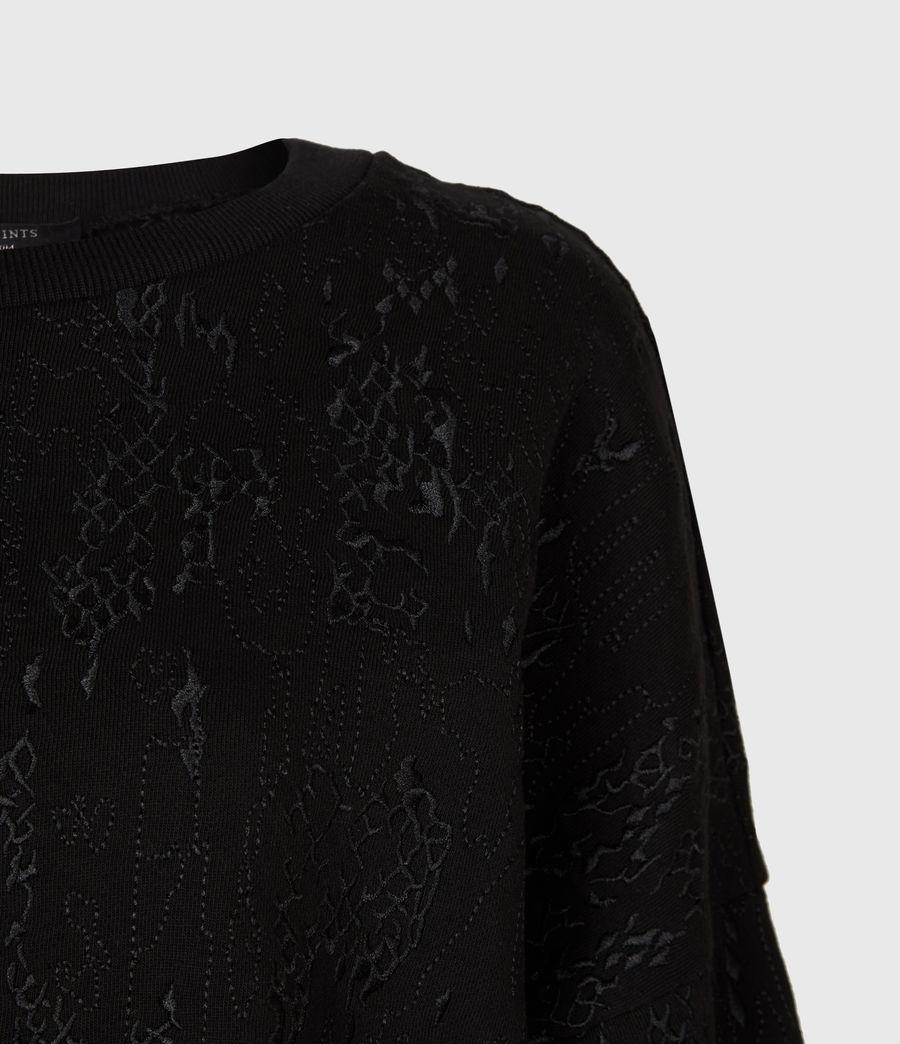 Womens Storn Masala Sweatshirt (black) - Image 4