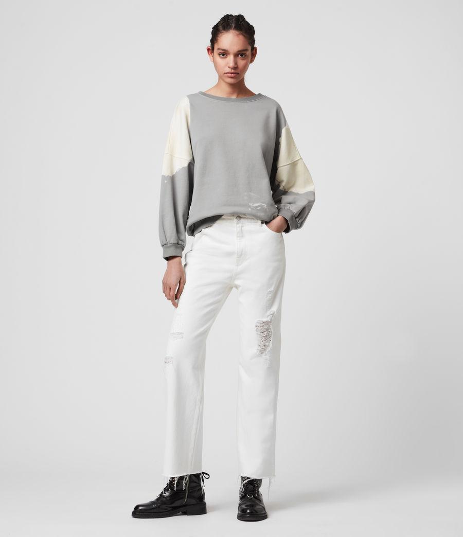 Mujer Storn Bleach Sweatshirt (ice_blue_chalk) - Image 1