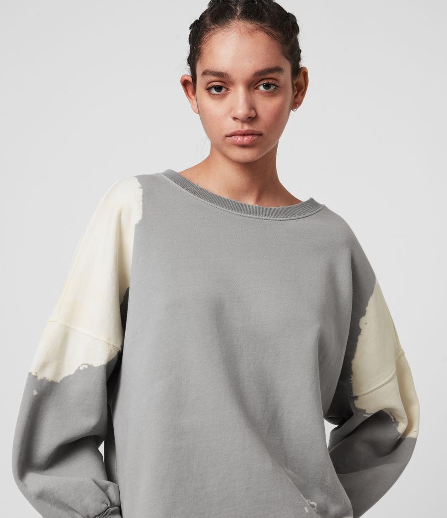 Mujer Storn Bleach Sweatshirt (ice_blue_chalk) - Image 2