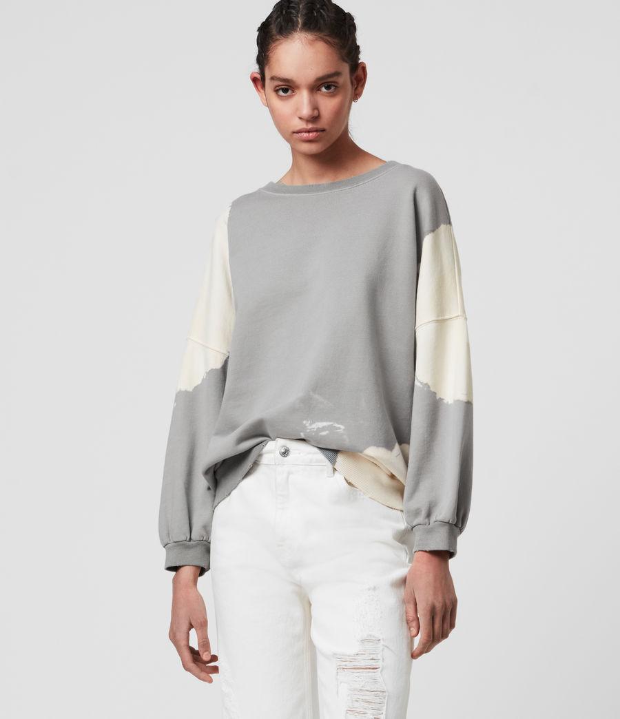 Mujer Storn Bleach Sweatshirt (ice_blue_chalk) - Image 3