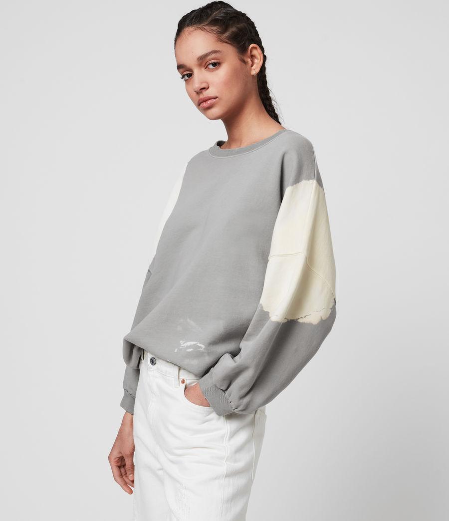 Mujer Storn Bleach Sweatshirt (ice_blue_chalk) - Image 4