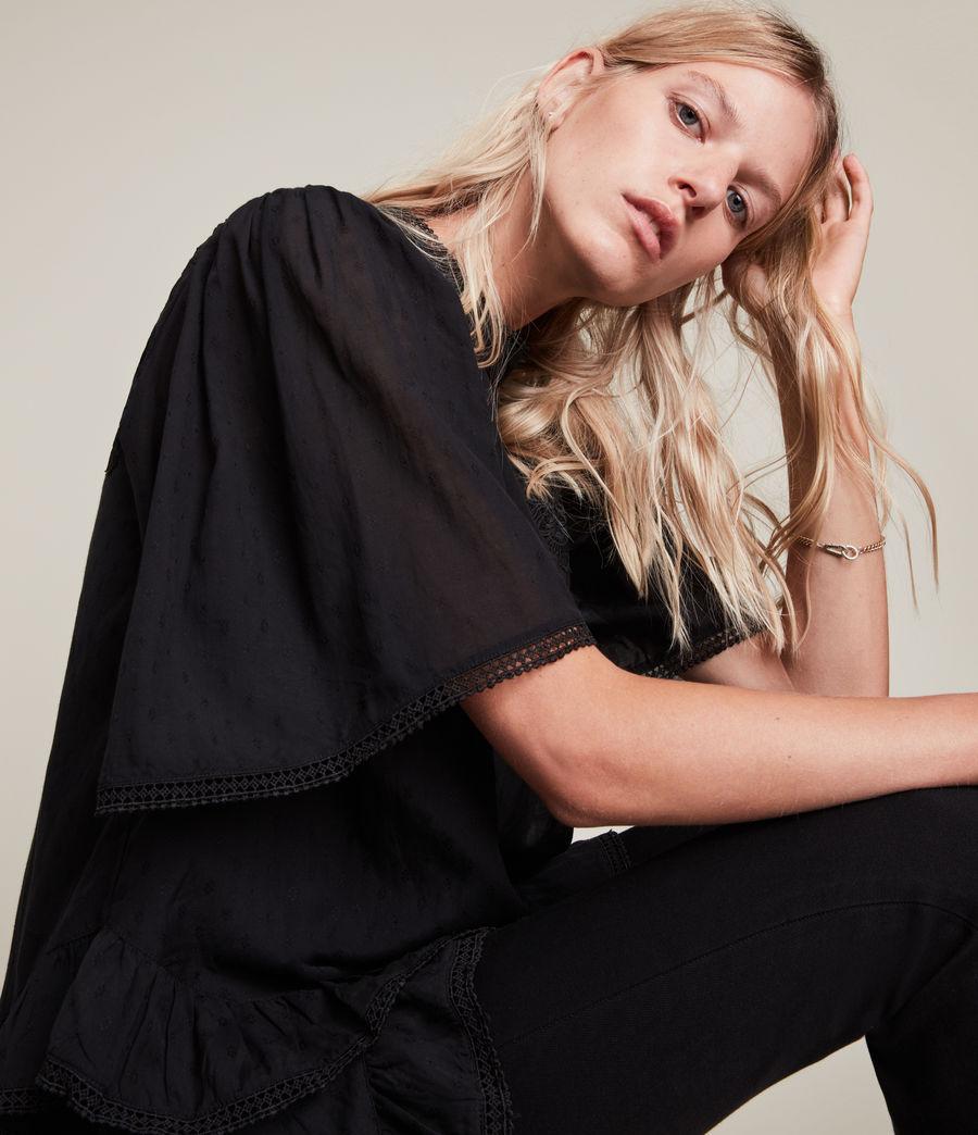 Womens Nico Top (black) - Image 2