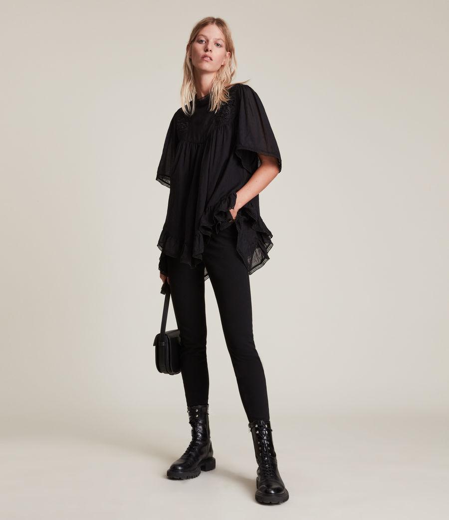 Womens Nico Top (black) - Image 4