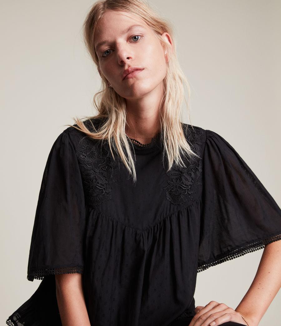 Womens Nico Top (black) - Image 5