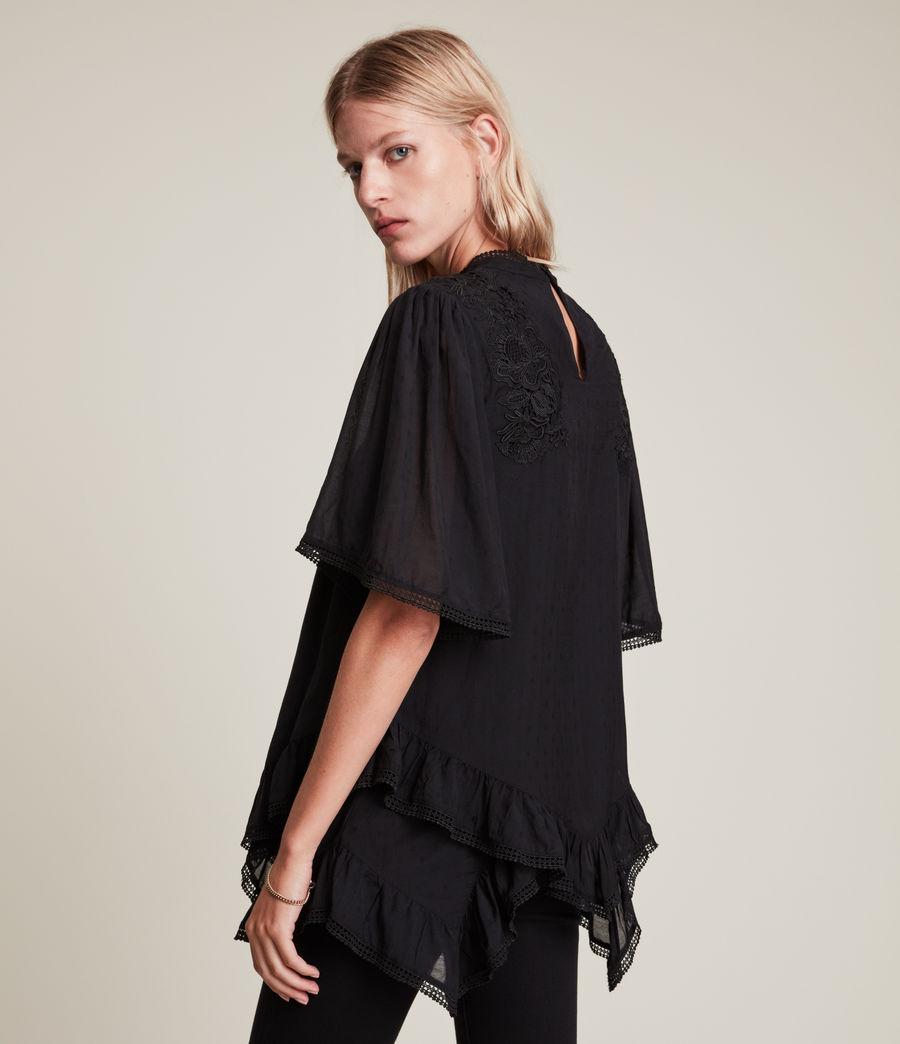 Womens Nico Top (black) - Image 6