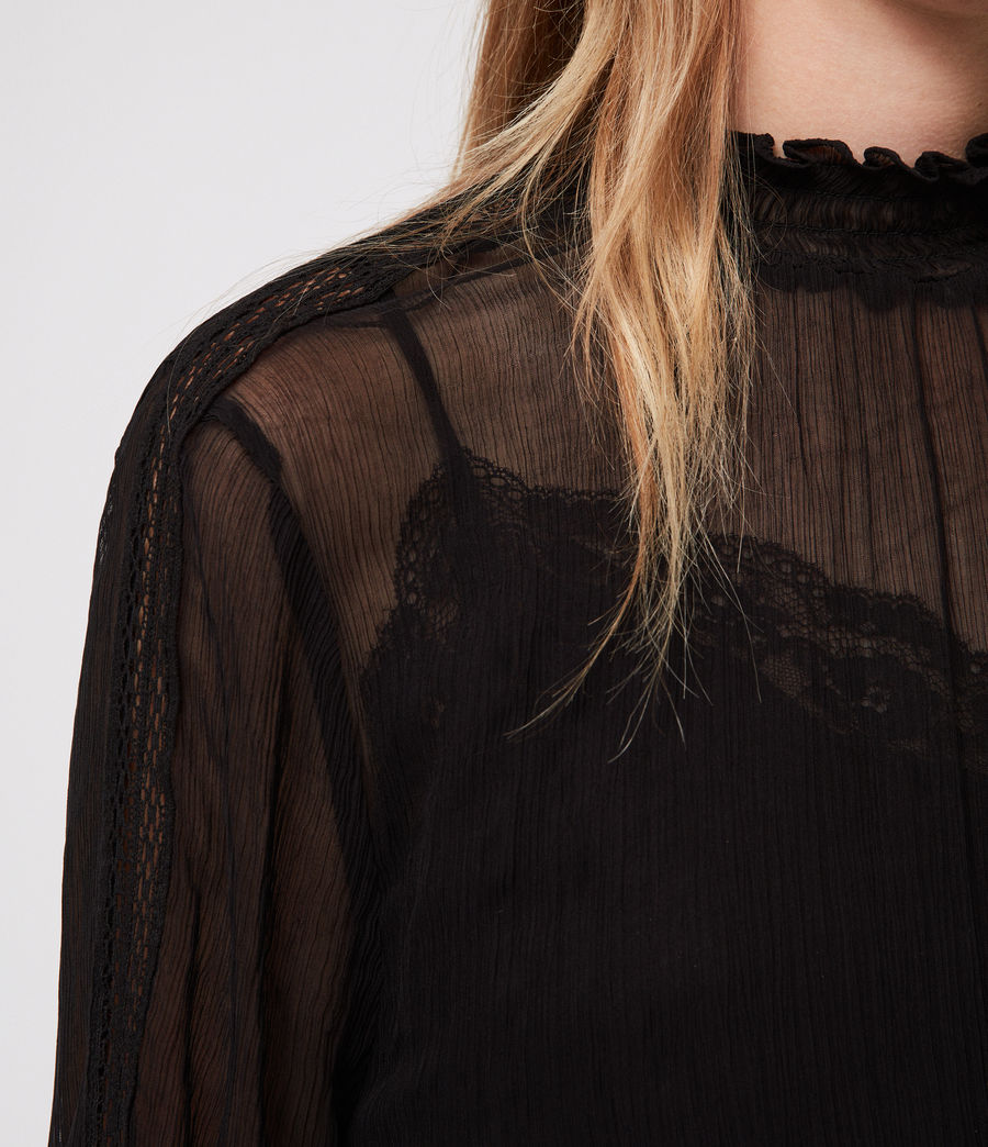 Mujer Clarette Top (black) - Image 2