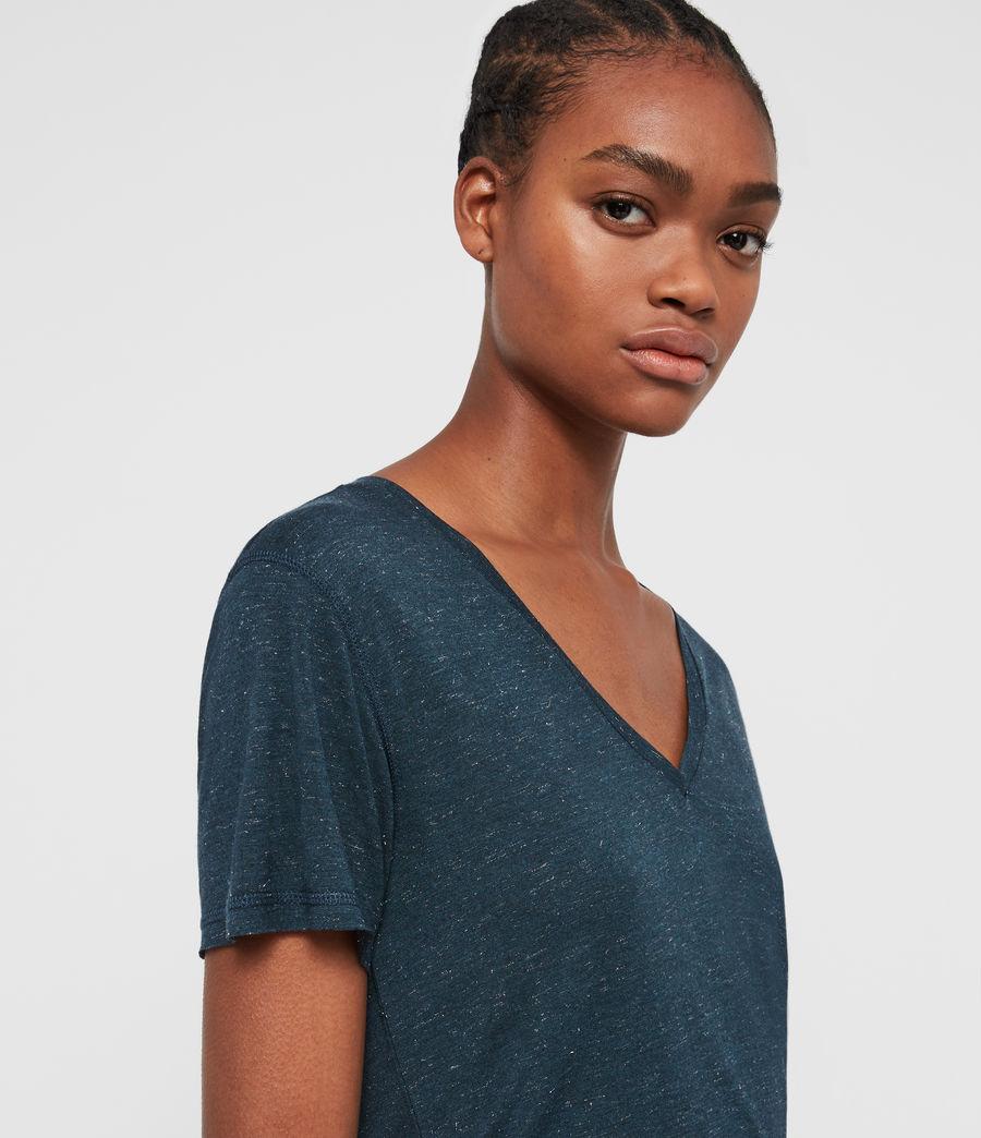 Women's Emelyn Shimmer T-Shirt (grey_marl) - Image 2