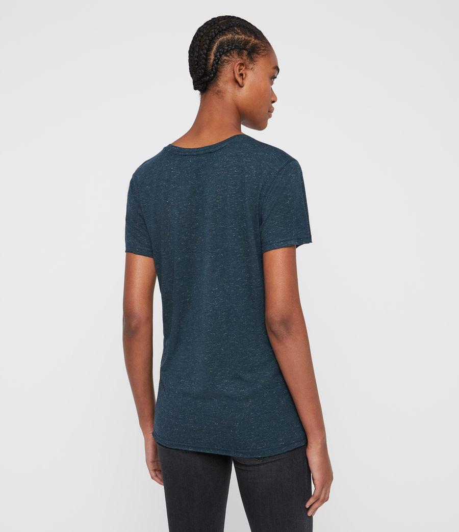 Women's Emelyn Shimmer T-Shirt (grey_marl) - Image 5
