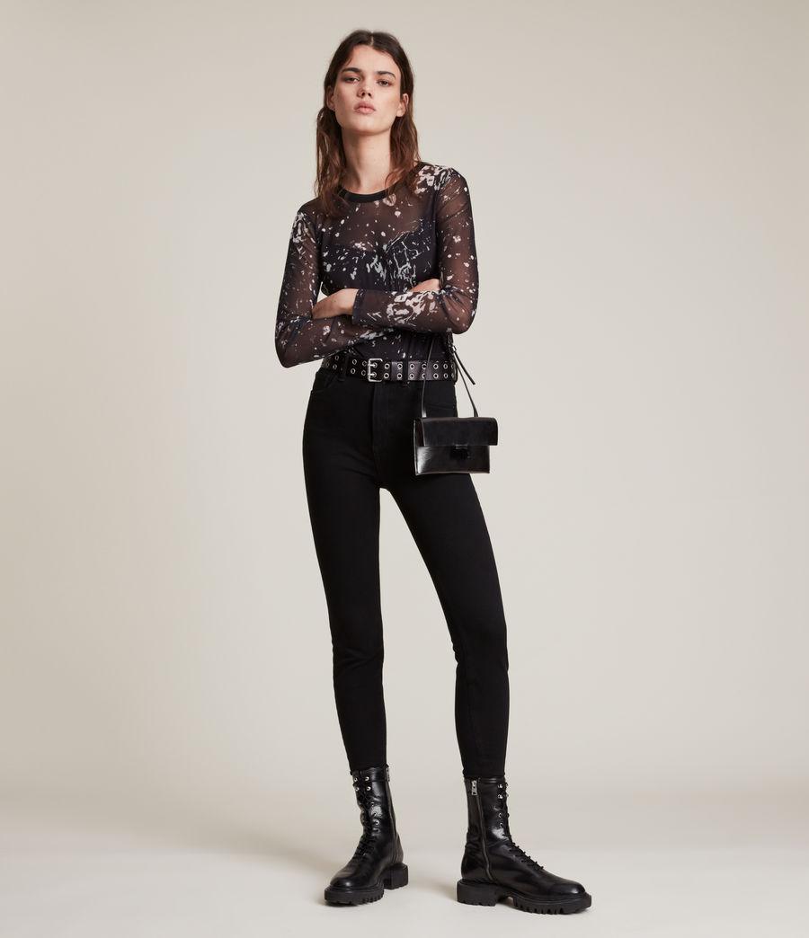 Women's Nora Portland Bodysuit (black) - Image 1