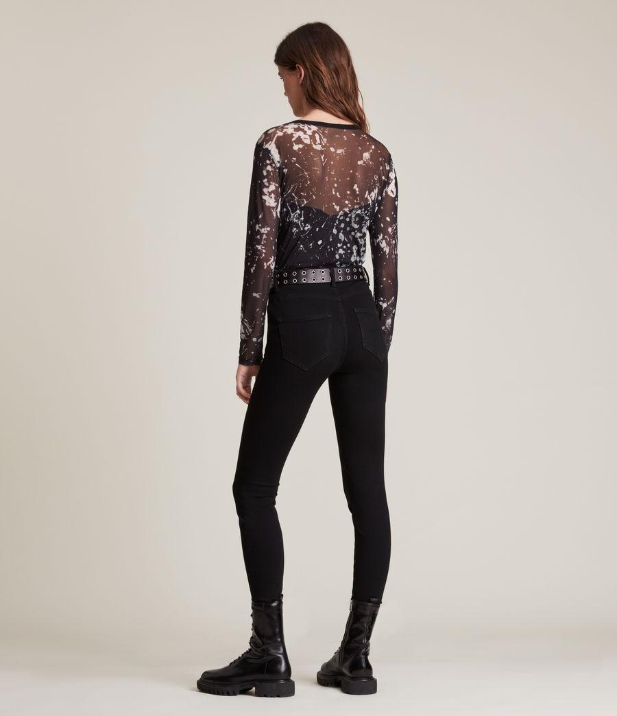 Women's Nora Portland Bodysuit (black) - Image 5