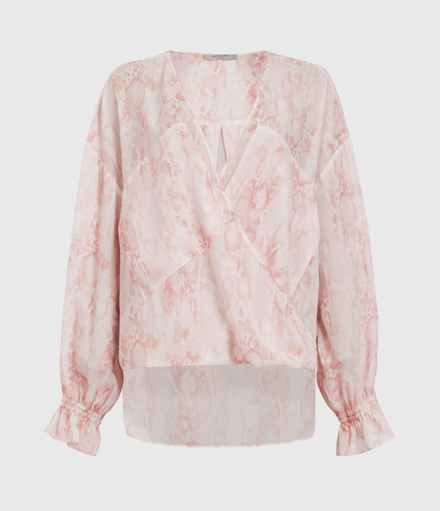 Women's Penny Masala Top (soft_pink) - Image 1