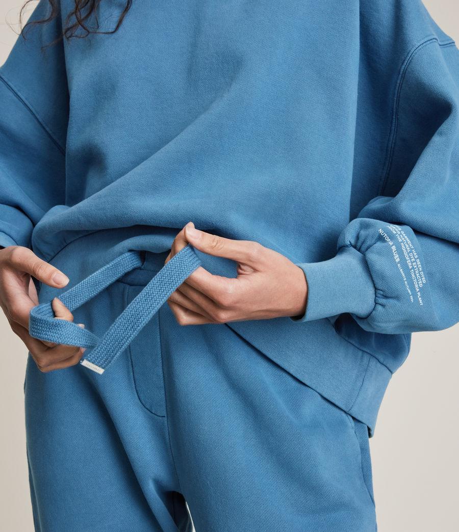 Womens Natural Talie Hoodie (indigo_blue) - Image 2