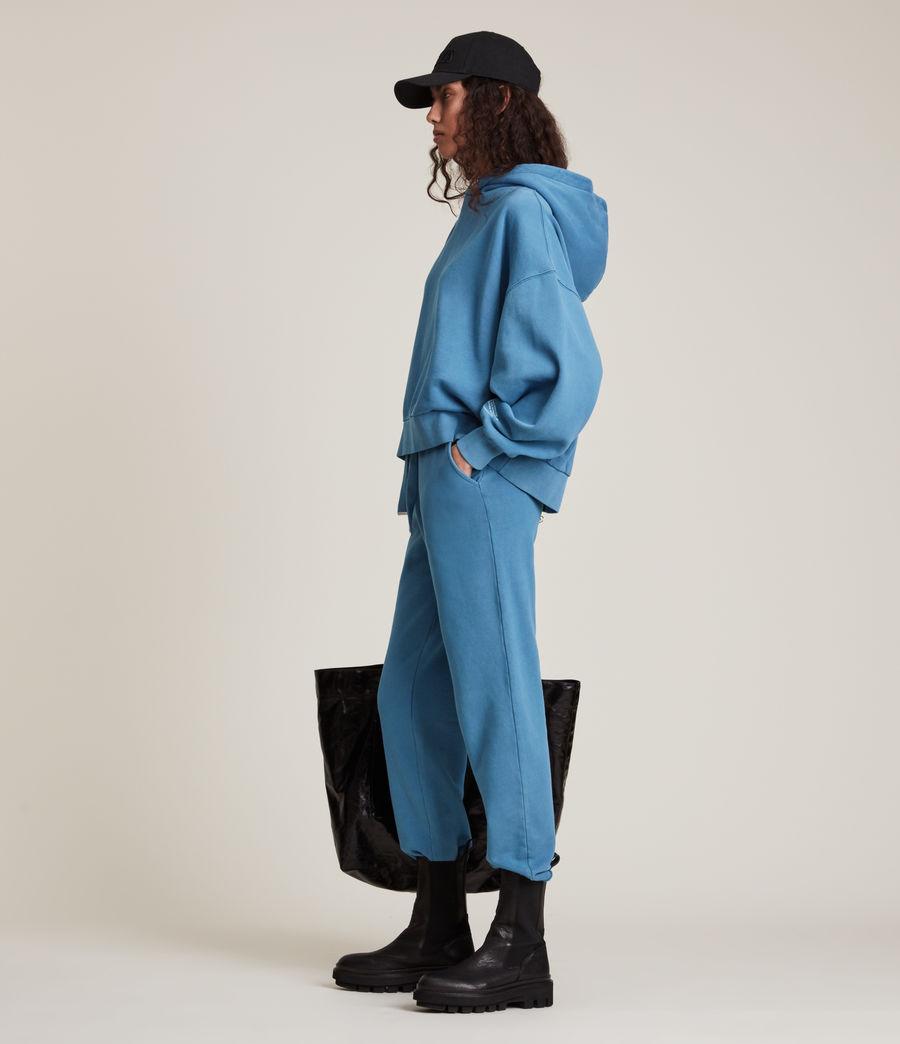 Womens Natural Talie Hoodie (indigo_blue) - Image 4