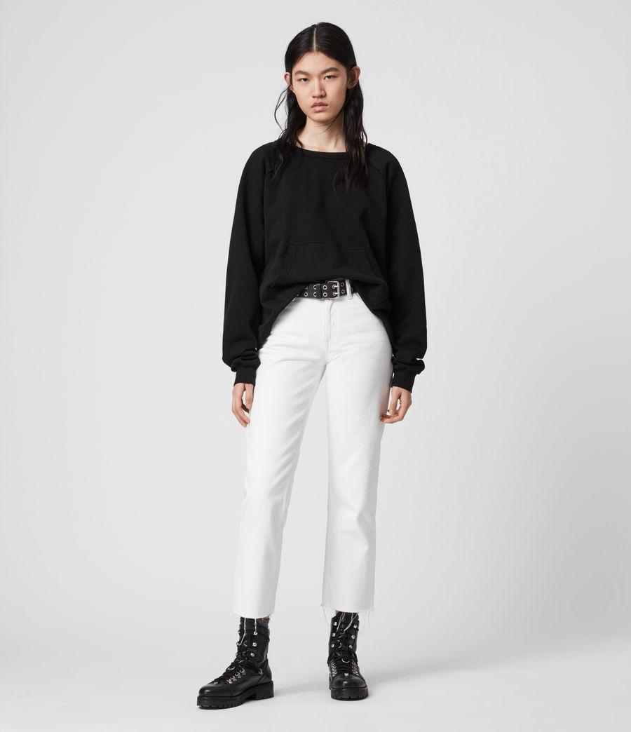 Damen Jessi Sweatshirt (black) - Image 1