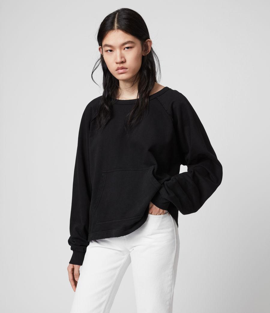 Damen Jessi Sweatshirt (black) - Image 2