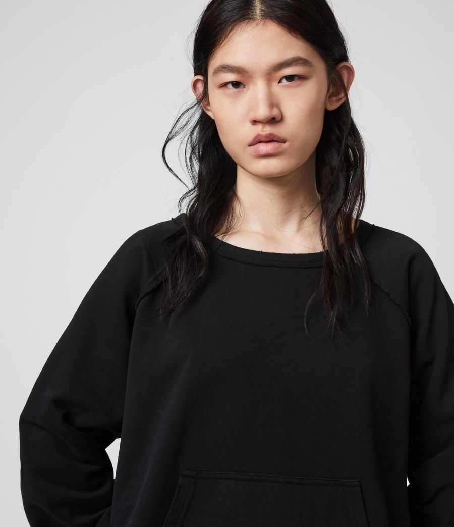 Damen Jessi Sweatshirt (black) - Image 3