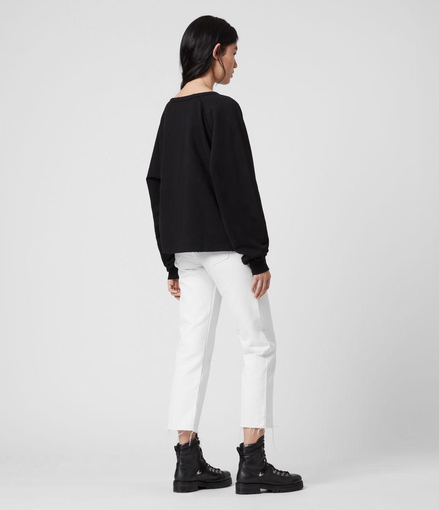Damen Jessi Sweatshirt (black) - Image 5