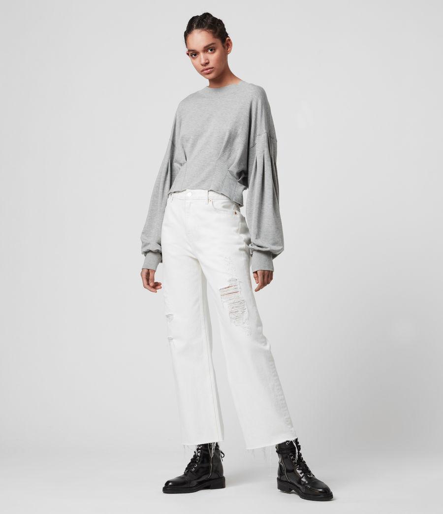 Womens Sidola Sweatshirt (grey_marl) - Image 1