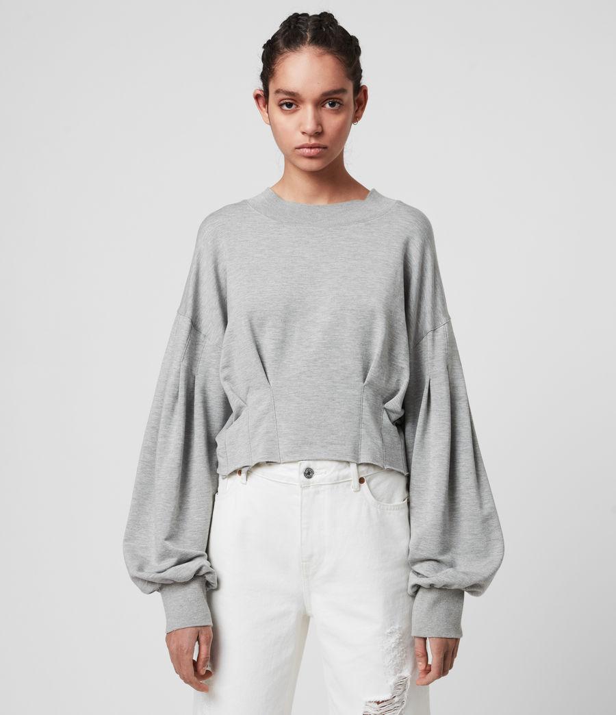Womens Sidola Sweatshirt (grey_marl) - Image 3
