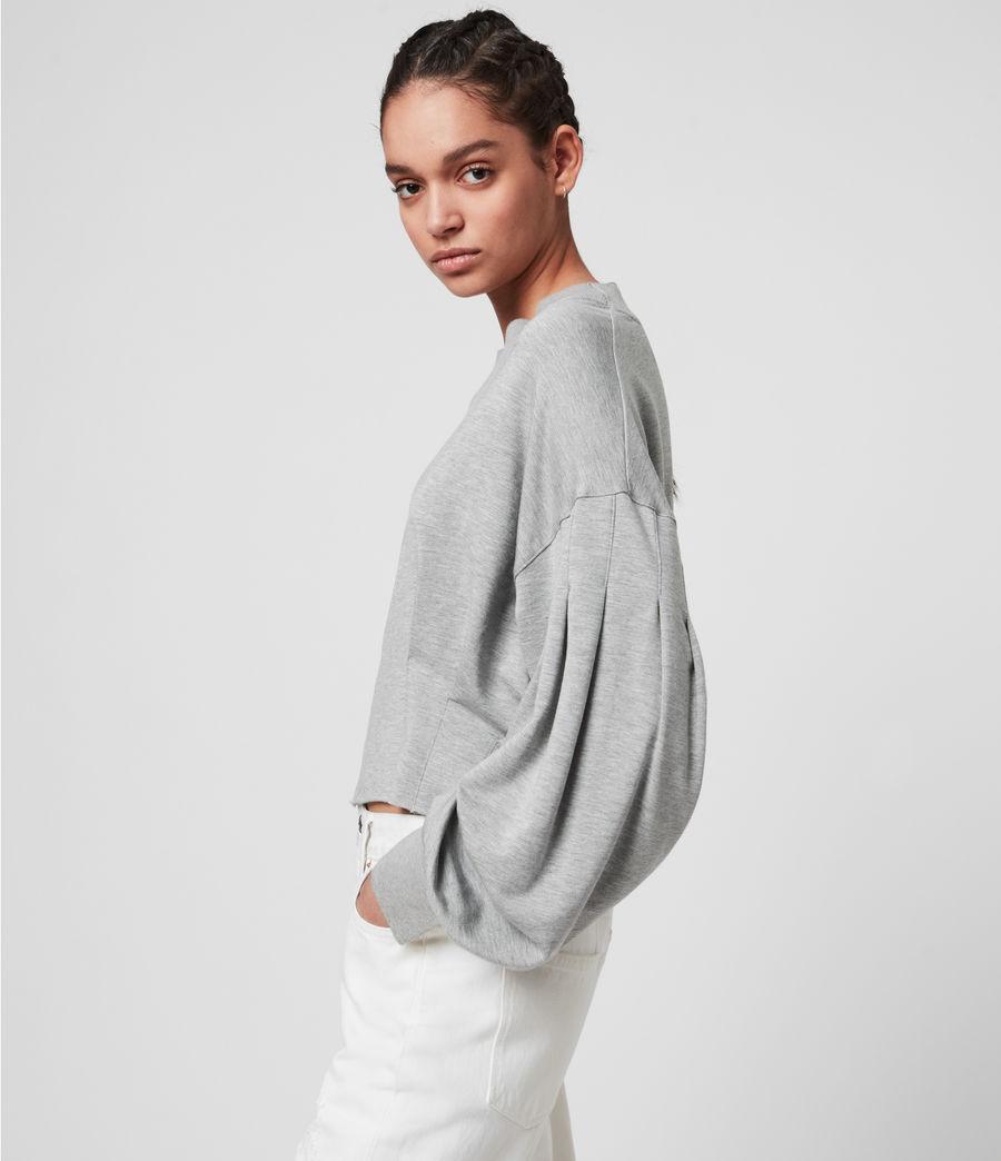 Womens Sidola Sweatshirt (grey_marl) - Image 4