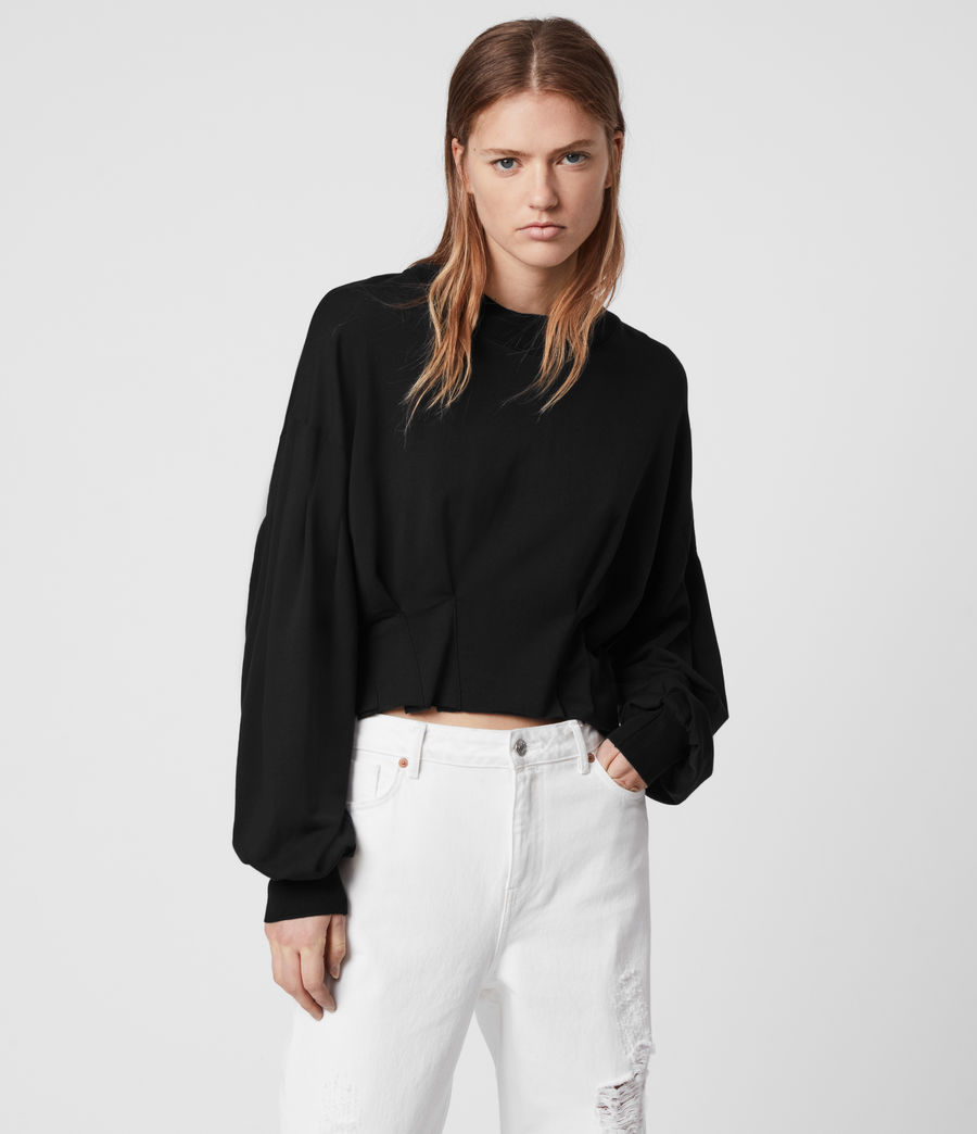 Mujer Sidola Sweatshirt (black) - Image 1