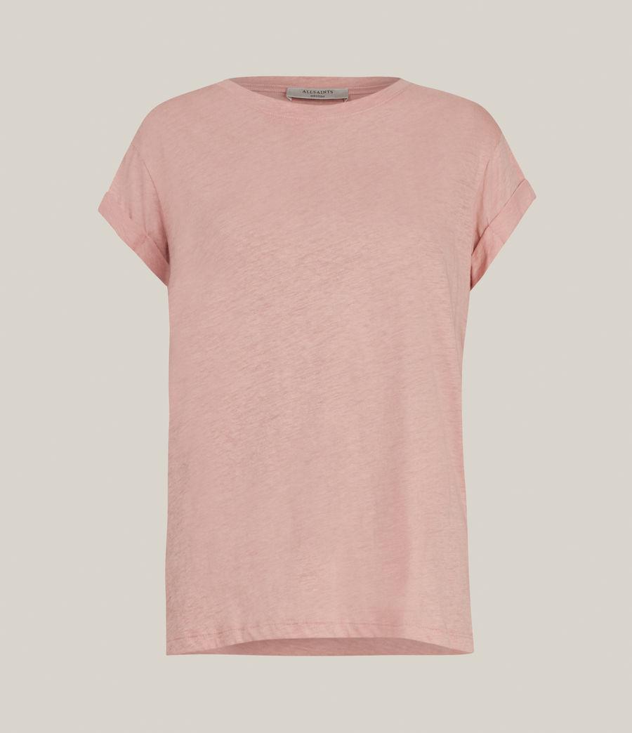 Damen Anna T-Shirt (pink) - Image 2